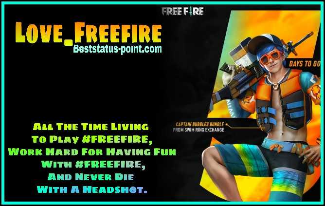 Freefire Status 497 Best Free Fire Status And Quotes In English