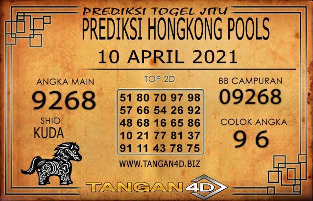PREDIKSI TOGEL HONGKONG POOLS TANGAN4D 10 APRIL 2021