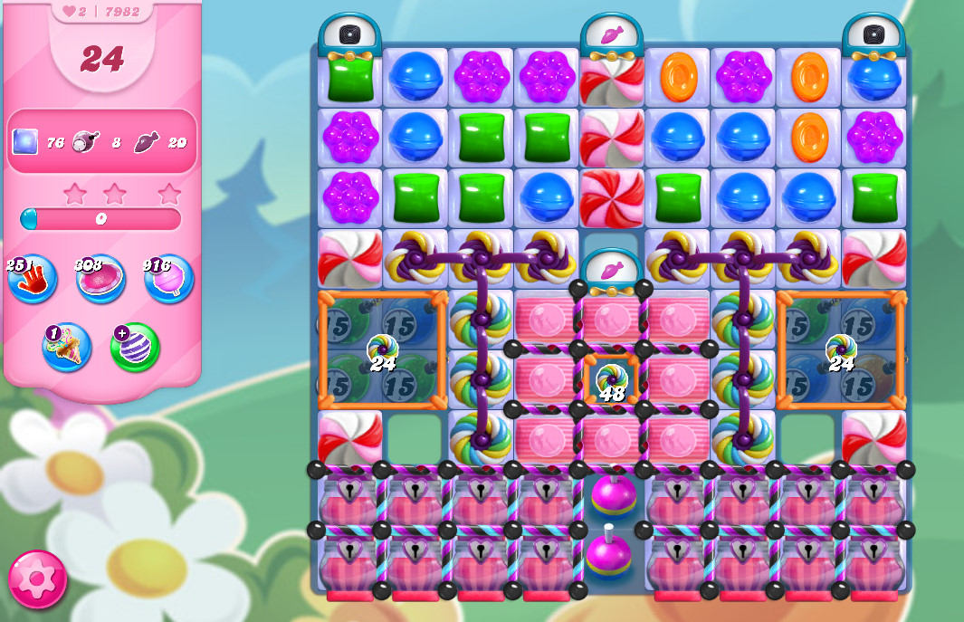 Candy Crush Saga level 7982