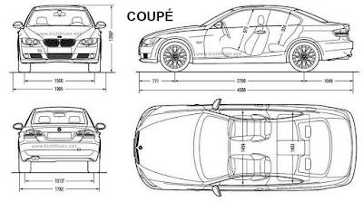 kich thuoc xe bmw 3 series coupe