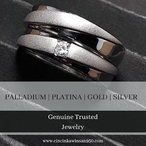 cincin kawin palladium couple 335