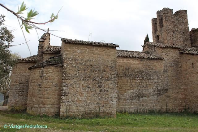ruta medieval pel Bages, ruta del Romànic, art romànic, patrimoni cultural, Catalunya, Balsareny