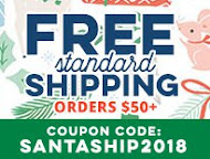 FREE shippping with order over $50