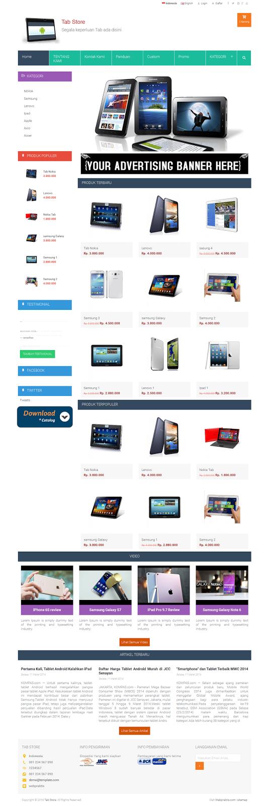 Bikin Website .com & Toko Online - 2