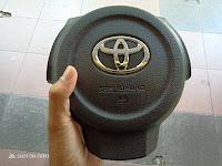 Harga Dan Fisik Airbag Steer + Horn Button  Toyota Agya