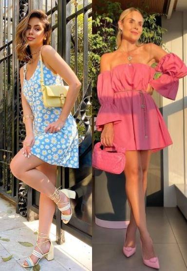 6 Calçados tendência 2021, calçados coloridos, Prih Simon, Layla Monteiro