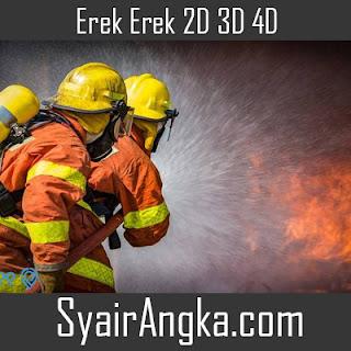 Erek Erek Menjadi Pemadam Kebakaran 2D 3D 4D