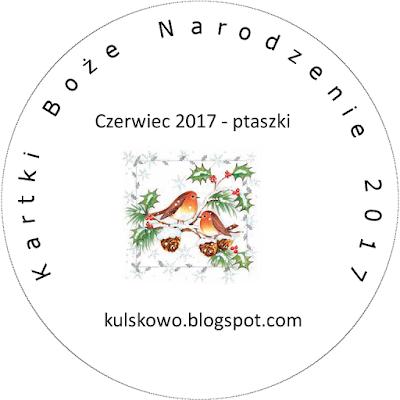 Kartki Boże Narodzenie 2017 - czerwiec