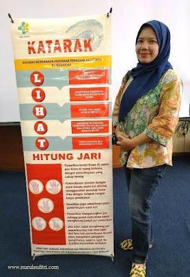 pemeriksaan gangguan penglihatan dengan cara lihat dan metode hitung jari nurul sufitri blogger sigalih kemenkes republik indonesia