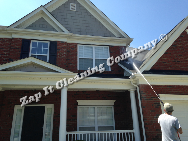 Zap it pressure washing top rated charlotte pressure - Exterior house washing charlotte ...