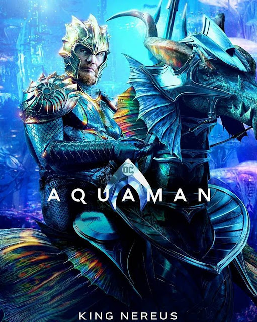 king nereus atlanna aquaman movie poster official