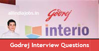 Godrej Group Interview Questions