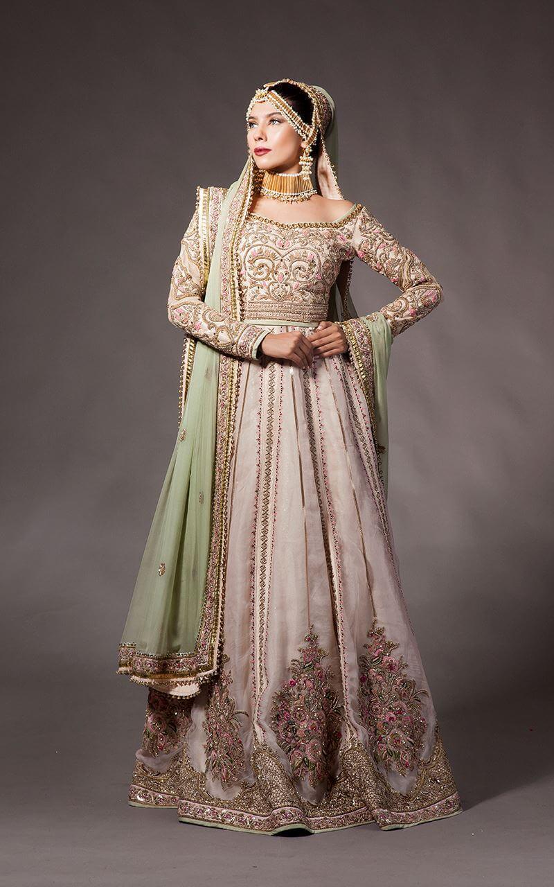 Fahad Hussayn Bridal Nikah Suit