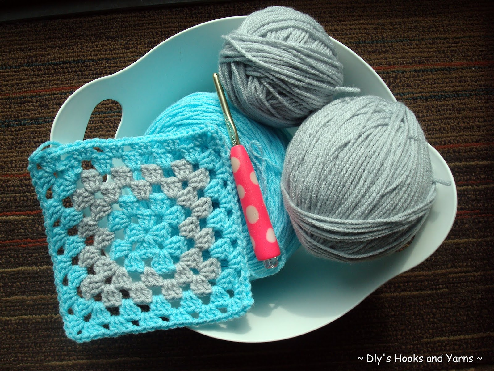 my little blue house ~: ~ 'grey skies' baby blankie ~