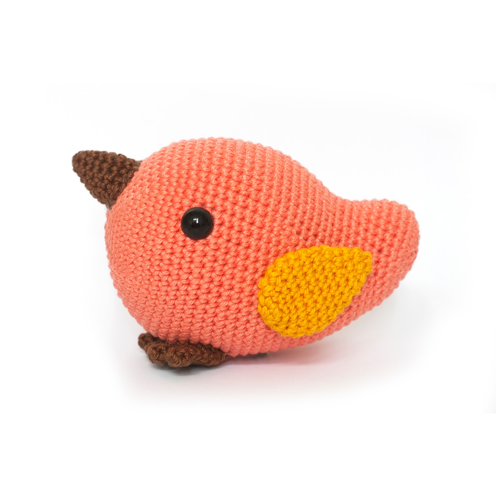 Amigurumi Crochet Bird Patterns : Toy Patterns by DIY Fluffies : Bird crochet pattern