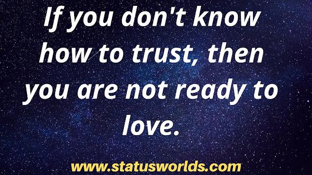 Trust Status And Quotes