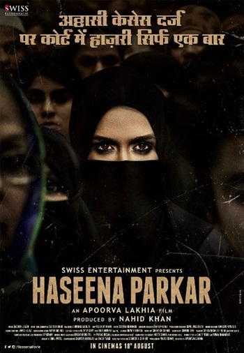 Haseena Parker 2017 Hindi 720p HDRip 850mb
