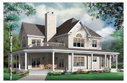 casas plans traditional plan dos plantas casa dormitorios farmhouse planos para lujosa metros victorian cuadrados architectural around cuatro porch con