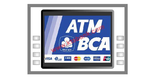 cara bayar tagihan kartu kredit bukopin melalui atm bca