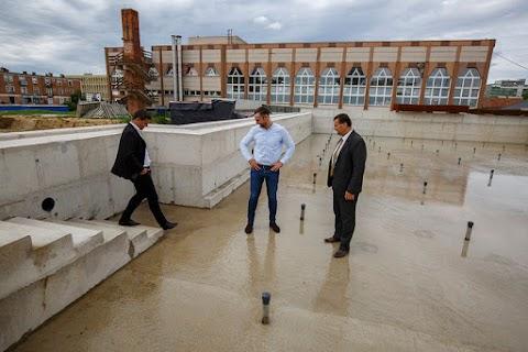 Zalaegerszegi polgármester: 2022 elejére elkészül az új uszoda