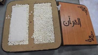 WASPADA..!!! Modus Baru penyelundupan Narkoba Melalui Buku Ditulis 'Al-Quran'