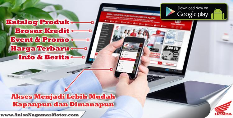 Aplikasi Android Anisa Naga Mas Motor Klaten