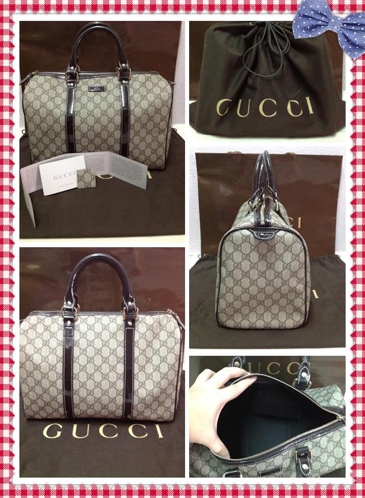 168539cccd7d Gucci Joy Boston Bag Price. GUCCI Joy Boston bag | Modsie Gucci Black Microguccissima  Leather Medium ...
