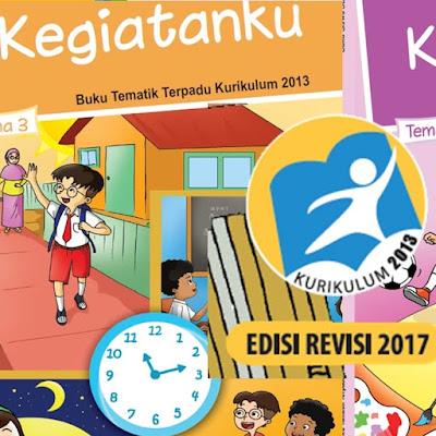 Buku Kelas 1 Kurikulum 2013 Revisi Terbaru 2017