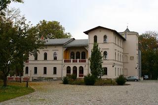 Herrenhaus in Leipzig Möckern, einstiges Rittergut mit Parkanlage