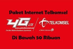 12 Paket Internet Telkomsel Termurah di Bawah 50 Ribuan Terbaru