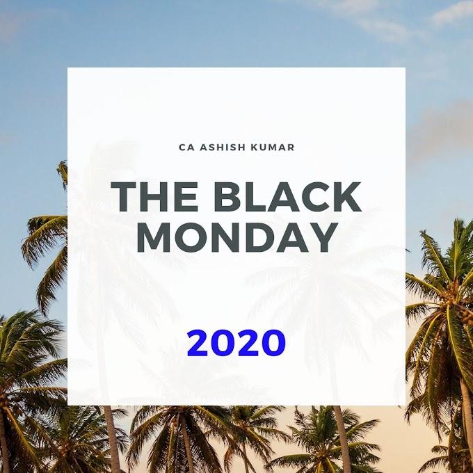Black Monday 2020 (Stock Market Crash)