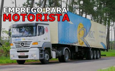 vaga para motorista em brasilia