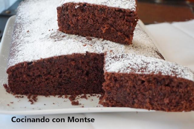 Bizcocho De Chocolate Y Almendra