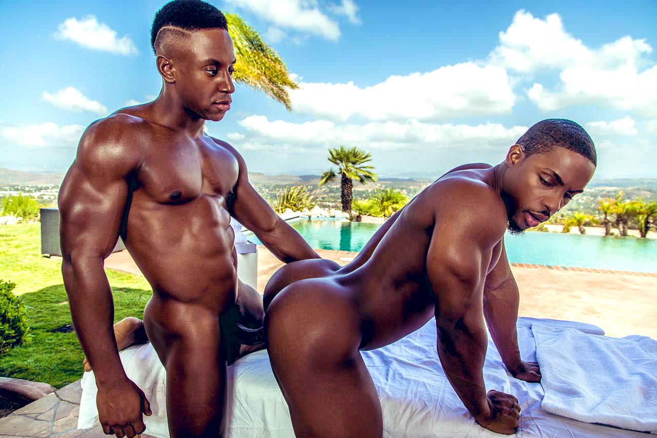 Icon Male, D'angelo Jackson, Cyber Liam, bbc, black porn stars, black male pornstar, black male nude, big black dick,