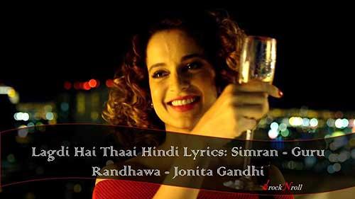 Lagdi-Hai-Thaai-Hindi-Lyrics-Simran-Guru-Randhawa