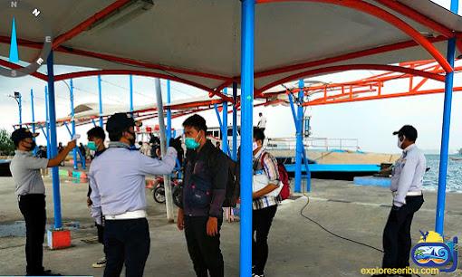 protokol kesehatan wisatawan covid 19 pulau harapan