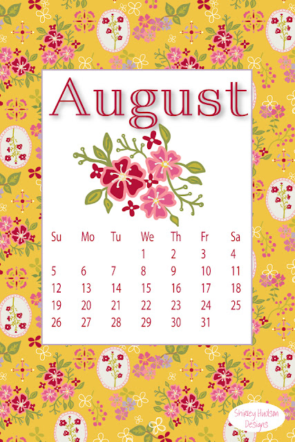 Happy August...freebie