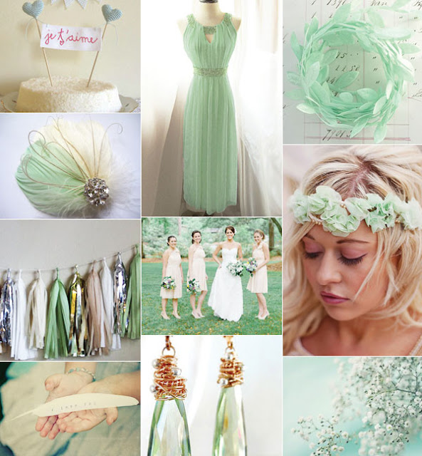 Green Wedding Ideas: The Fine Living Muse : 2013 Trending Color For Spring And