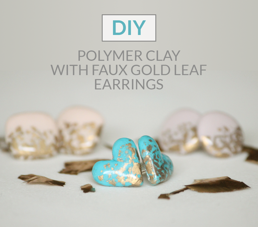 http://www.thecreativeglow.com/2015/03/diy-polymer-clay-faux-gold-leaf-earrings.html