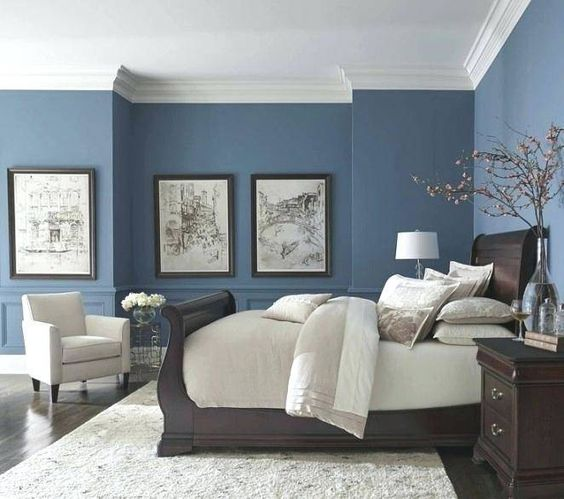 Blue and White Bedrooms - Decor Inspiration