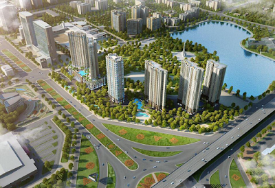 Vinhomes ra mắt 2 tòa căn hộ cao cấp Vinhomes D' Capitale Trần Duy Hưng