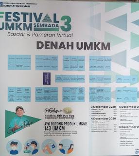 Denah Festival UMKM Sembada 3