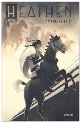 Heathen de Narasha Alterici, edita Astiberri - comic lesbianas vikingas