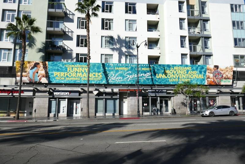 Palm Springs film FYC billboard