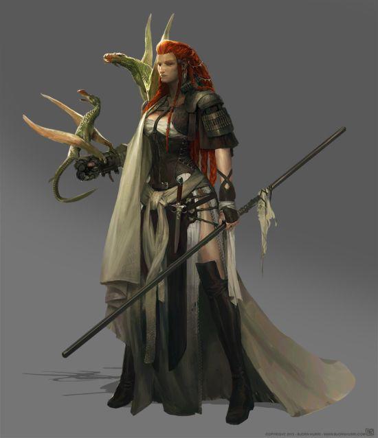 Bjorn Hurri ilustrações artes conceituais fantasia games Game of Thrones fan-arts