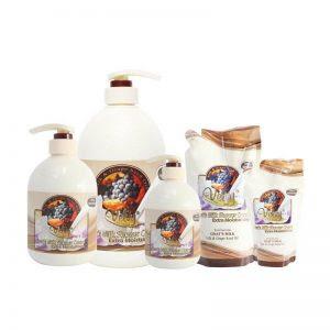Velvy Goat's Milk Shower Cream Silk & Grape Seed Oil