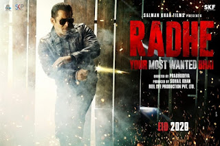 Radhe – Your Most Wanted Bhai First Look Poster 1