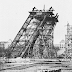 Rare Photo Of The Eiffel Tower Under Construction In 1888