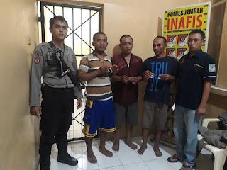 Tiga Tersangka Pengedar Sabu Dibekuk Polisi