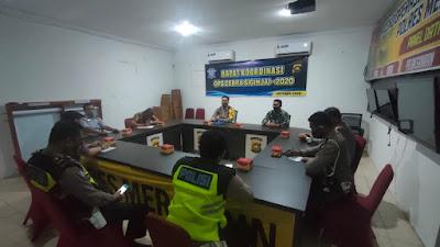 Operasi Zebra tahun 2020 Polres Merangin ikut Sertakan TNI